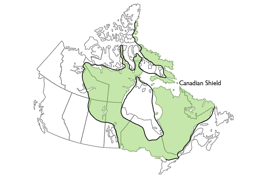 Image of: Canadian Shield